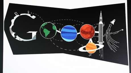 """A competição """"Doodle 4 Google"""" convida estudantes americanos a redesenhar o logo da homepage do Google e premia o melhor desenho"""