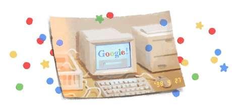 Larry Page e Sergey Brin criaram o Google como um projeto de pesquisa na Universidade Stanford, na Califórnia, e o lançaram como empresa em 1998