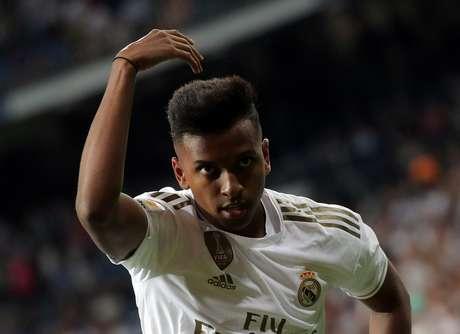 Rodrygo chegou ao Real Madrid em junho deste ano 25/09/2019 REUTERS/Juan Medina