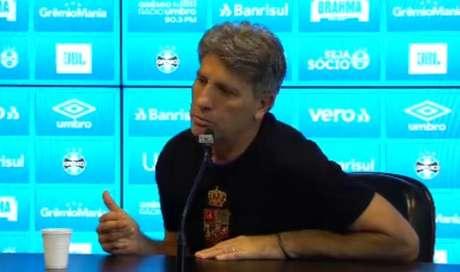 Renato Portaluppi é ídolo do Grêmio, onde levantou a Libertadores como jogador e técnico (Reprodução L!TV)