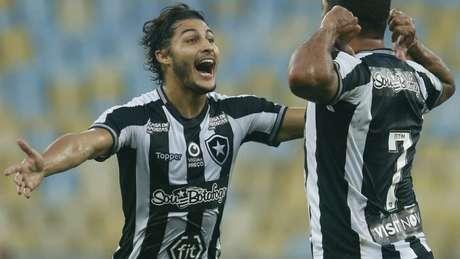 Marcinho ganha chance com Tite (Foto: Vítor Silva/Botafogo)
