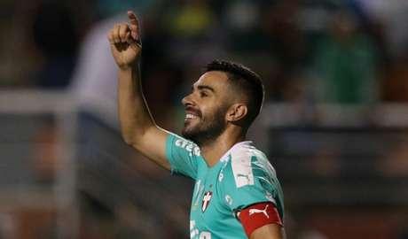 Bruno Henrique é o artilheiro do Palmeiras no Campeonato Brasileiro, com sete gols (Cesar Greco/Agência Palmeiras)