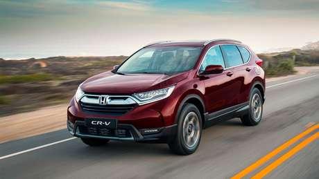 Honda CR-V: desvalorização de 3,04%