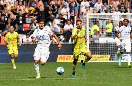 O Lyon foi melhor na partida (Foto: Reprodução)