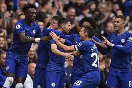 Chelsea jogou bem neste sábado (Foto: Glyn Kirk / AFP)