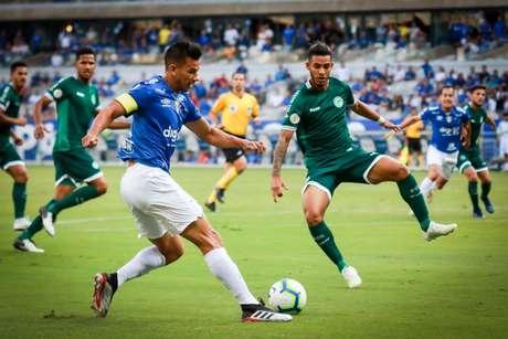 O duelo do turno foi vencido pela Raposa por 2 a 1, no Mineirão-( Dudu Macedo/Fotoarena/Agência Lancepress)