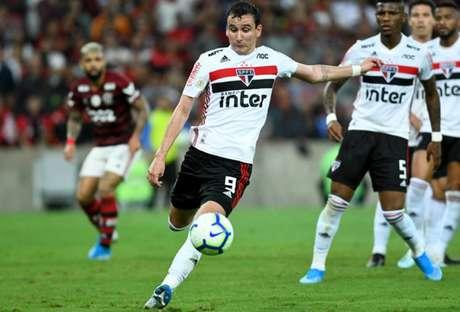 Pablo desperdiçou uma chance no início de jogo (Foto: Celso Pupo/Fotoarena)