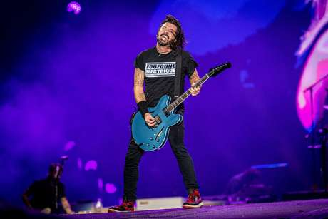 Foo Fighters, a atração mais aguardada do 2º dia do Rock In Rio