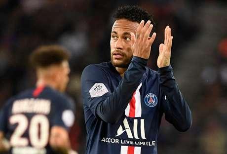 Neymar decidiu mais uma vez para o PSG (Foto: BERTRAND GUAY / AFP)