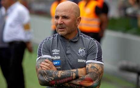Permanência de Sampaoli no Santos depende do planejamento para 2020 (Foto: Flavio Hopp/Lancepress!)