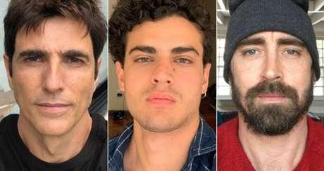 Reynaldo Gianecchini, Pedro Alves e Lee Pacce: bissexuais assumidos, mas sem abrir mão da privacidade nos relacionamentos