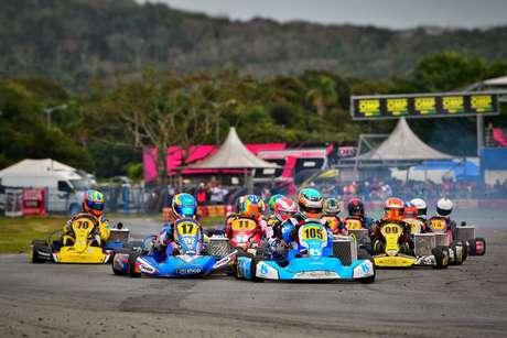 Ricardo Gracia vence rodada dupla na Copa SPR e é campeão da etapa no Kartódromo Beto Carrero