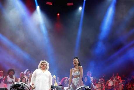 Apresentação da cantora Iza no Palco Mundo, no terceiro dia de festival de musica Rock in Rio 2019, realizado no Parque Olimpico da Barra da Tijuca, neste domingo (29).