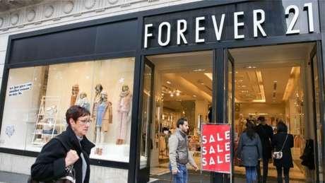 Pedido de falência da Forever 21 levará a fechamento de 178 lojas nos Estados Unidos