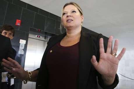 Joice Hasselmann é a líder do governo Bolsonaro no Congresso Nacional e desponta como favorita à candidatura paulistana do PSL