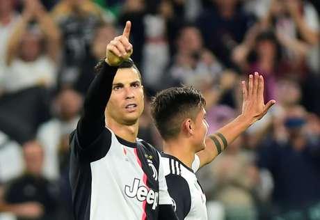 Cristiano Ronaldo fechou o placar para a Juventus.
