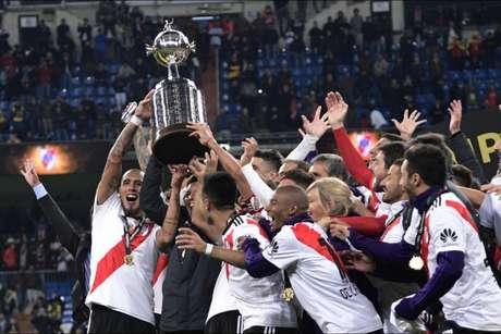 River Plate levou a melhor sobre o rival na final em Madri, no ano passado (AFP)