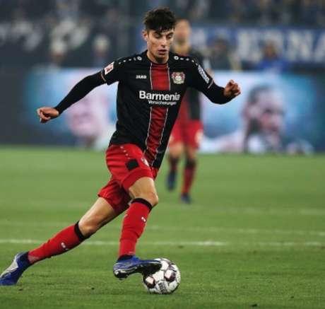 Havertz é um dos destaques do futebol alemão (Foto: Reprodução L!TV)