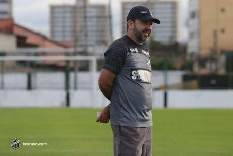 Enderson Moreira é demitido do Ceará, com 34,8% de aproveitamento (Foto: Bruno Aragão/Ceará)
