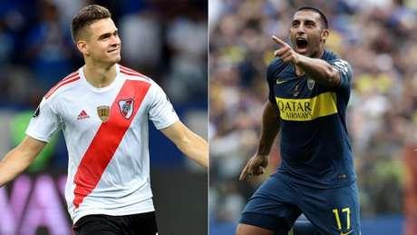 Boca e River duelam no Monumental de Núñez por vaga na decisão da Copa Libertadores (AFP)