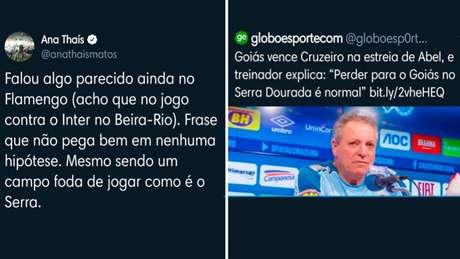 Ana Thaís Matos costuma a comentar sobre futebol em sua conta de Twitter (Foto: Reprodução/Twitter)