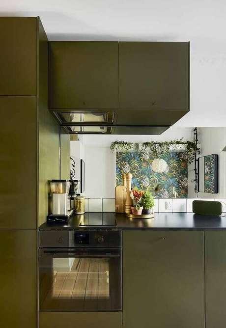 11. Tons de verde podem deixar a decoração mais leve e harmônica – Foto: Pinterest