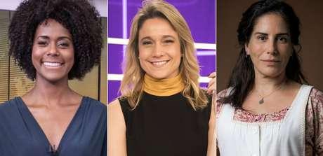 Maju Coutinho, Fernanda Gentil e Gloria Pires: estreias dominadas por mulheres