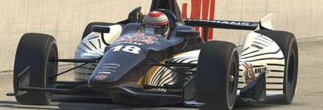 Piloto da Indy, Matheus Leist vence a primeira nos simuladores, na TimãoWeb Indy Light em Michigan