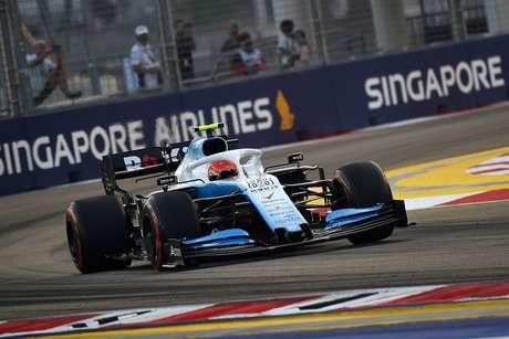 Williams vai experimentar uma atualização da asa dianteira no Japão pensando em 2020