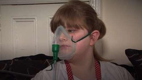 Lilly Kendall tinha 11 anos quando recebeu a notícia que haviam encontrado um doador