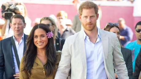A jornalista Katie Nicholl diz que 'Harry é muito protetor com Meghan'
