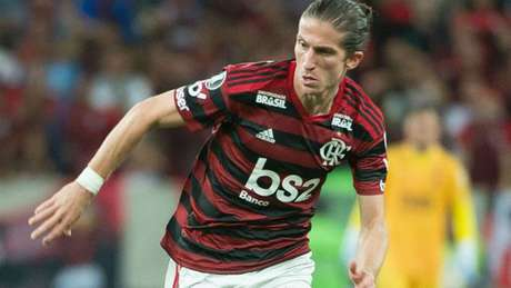Filipe Luís acumula 12 jogos com a camisa do Flamengo (Foto: Alexandre Vidal/Flamengo)