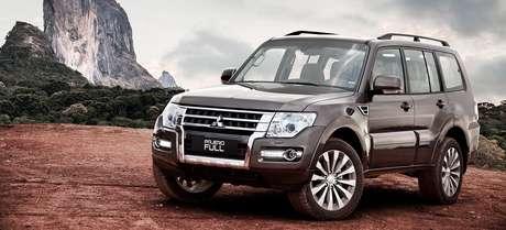 Mitsubishi Pajero: todas as versões acima de 7%.