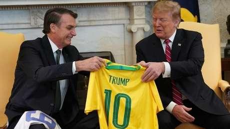 Bolsonaro tem se declarado um admirador de Trump