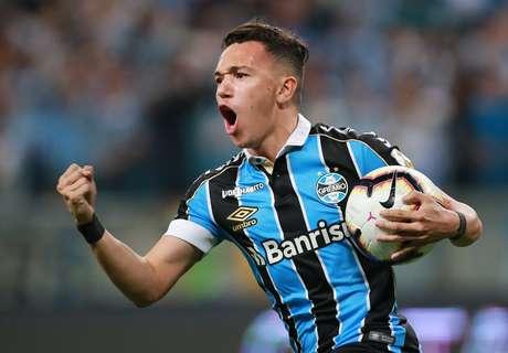 Pepê marcou o gol do Grêmio.