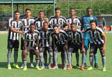 Time sub-20 do Botafogo (Foto: Fábio de Paula/Botafogo)