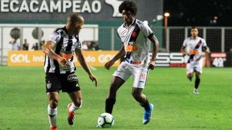 Talles Magno teve boa atuação contra o Atlético-MG (Divulgação/Vasco)