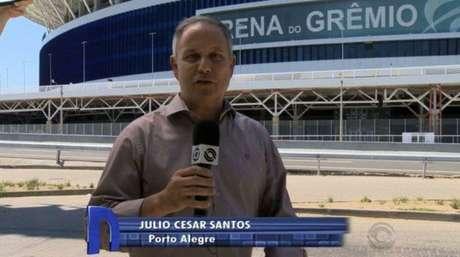 Julio Cesar Campos se despediu do jornalismo(Reprodução)