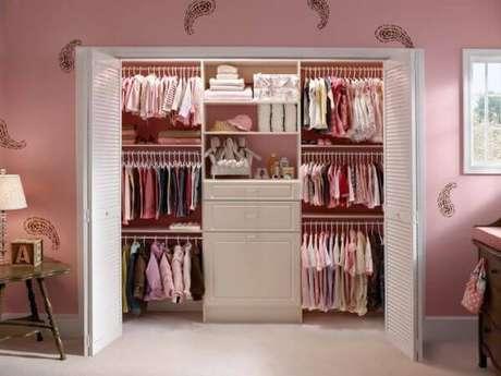 59. Decoração de closet feminino – Por: Revista VD