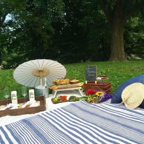 3. O primeiro passo para montar um divertido picnic é escolher o local – Foto: Perfect Picnic