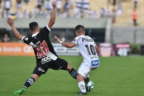 No primeiro turno, o Santos venceu o Vasco por 3 a 0, no Pacaembu (Foto: Ivan Storti/Santos FC)