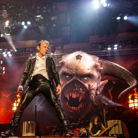 Iron Maiden é o headliner da noite do metal (Foto/Internet)