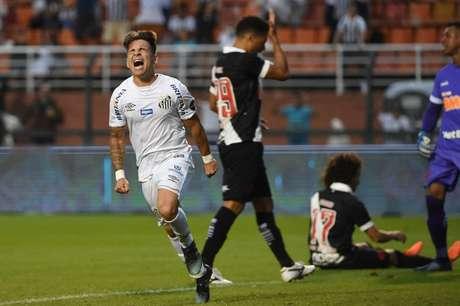 Santos venceu o Vasco no Brasileirão e na Copa do Brasil em 2019 (Foto: Sergio Barzaghi/Gazeta Press)