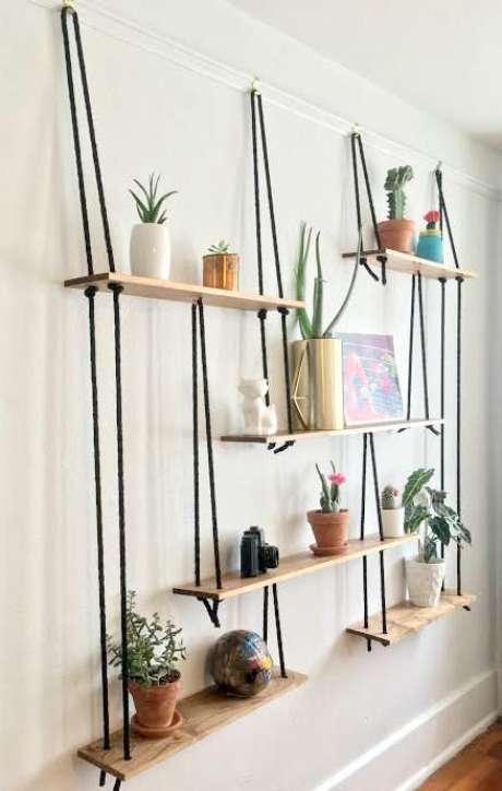 14. Suporte para vaso de planta suspense – Por: Pinterest