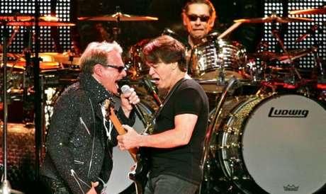 O vocalista David Lee Roth parece ter se divorciado da família Van Halen (Foto/Internet)