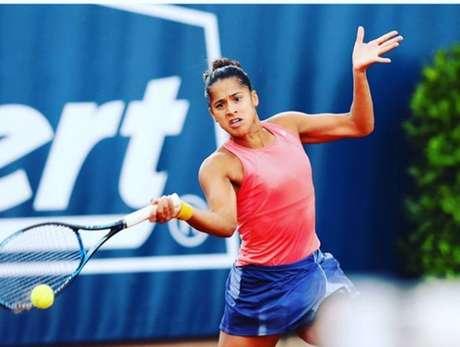 Após quatro anos sem chegar a uma final, Teliana Pereira vai jogar a decisão do torneio deSanta Margherita di Pula