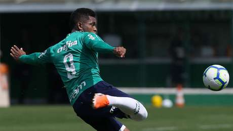 Borja deve ser o titular no ataque do Palmeiras neste domingo, contra o Atlético-MG (Foto: Cesar Greco)