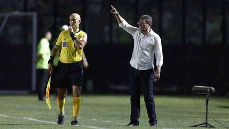 Apesar da derrota, treinador gostou da atuação de sua equipe - (Rafael Ribeiro/Vasco)