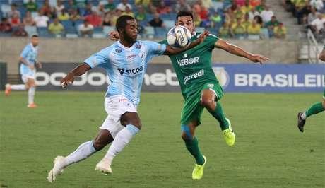 Londrina conquistou importante resultado contra o Cuiabá (Foto: AssCom Dourado)