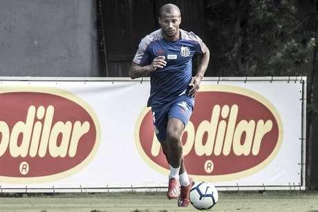 Sánchez pode reforçar o Santos contra o Palmeiras (Ivan Storti)